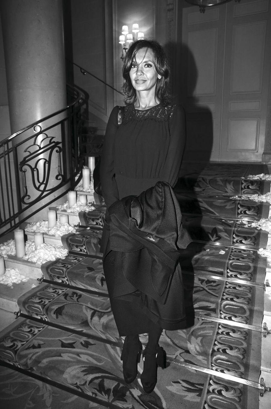 Karine Le Marchand.