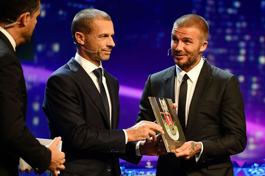David Beckham a reçu leprix du Président