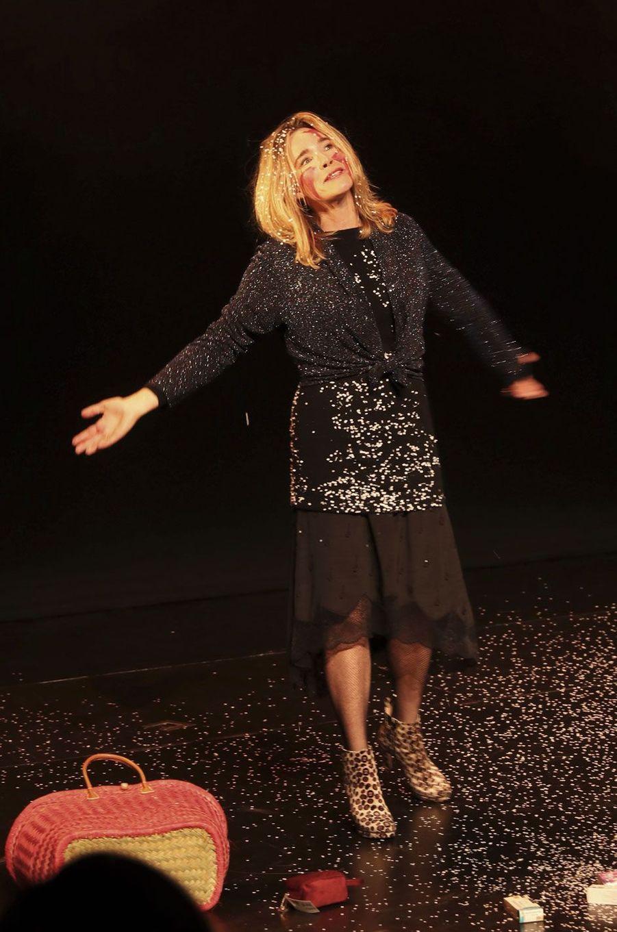Géraldine Danon sur scène.