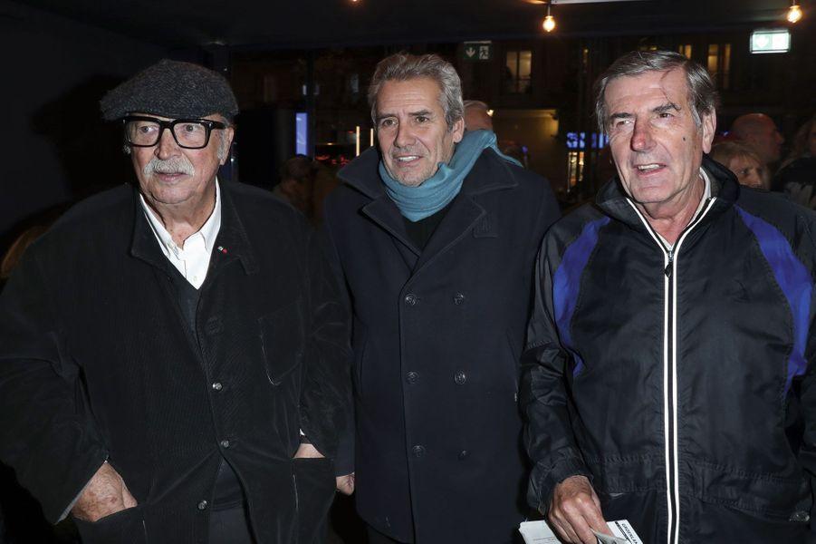Jean Becker, Manuel Gélin, Bernard Menez.