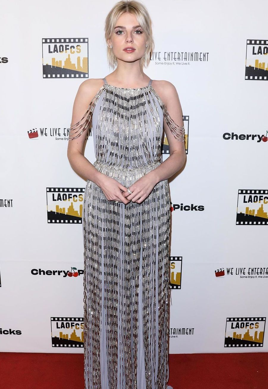 Lucy Boyntonlors de la 2ème cérémonie annuelle Los Angeles Online Film Critics Society AwardBackgrid USA / Bestimage