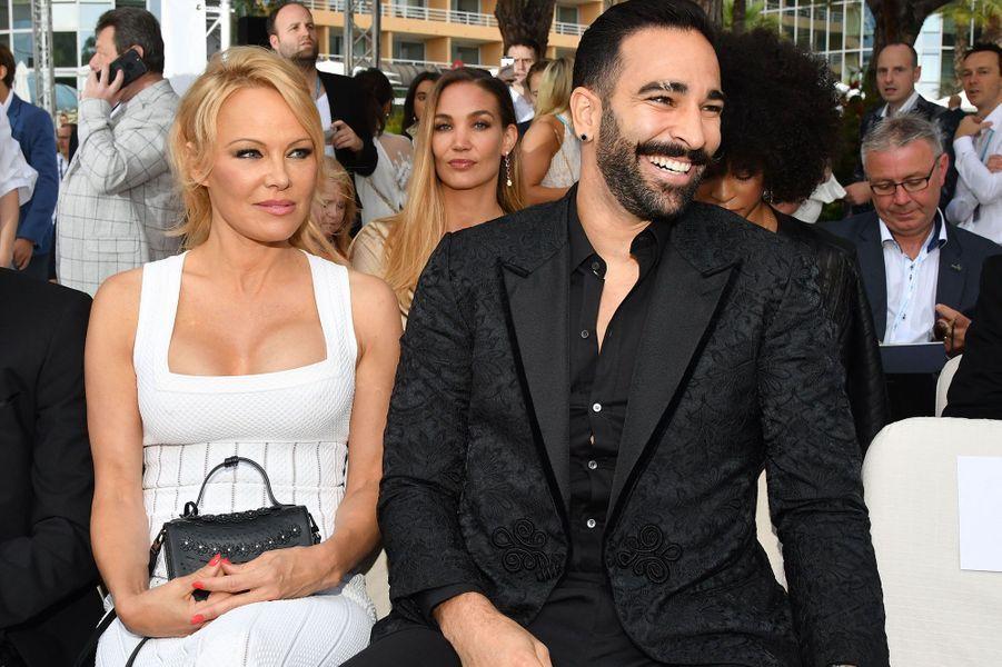 Pamela Anderson et Adil Rami à Monaco vendredi