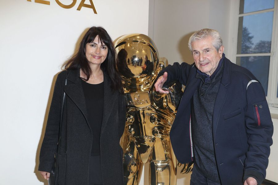 Valérie Perrin et Claude Lelouch.
