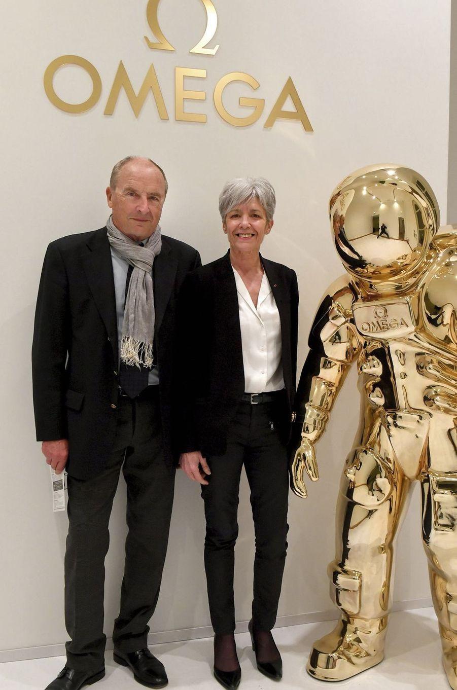 Jean-Pierre et Claudie Haigneré