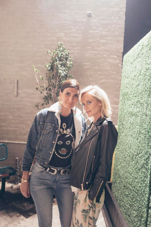 Poppy Delevingne et une amie