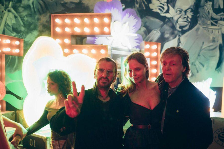 Ringo Starr, Stella McCartney et Paul McCartney