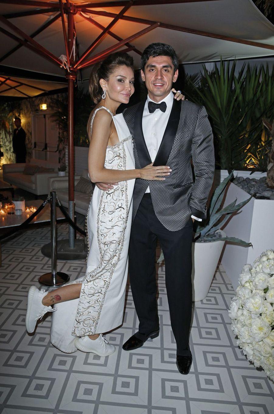 Lola Karmova-Tillyaeva et son mari, Timur Tillyaev.