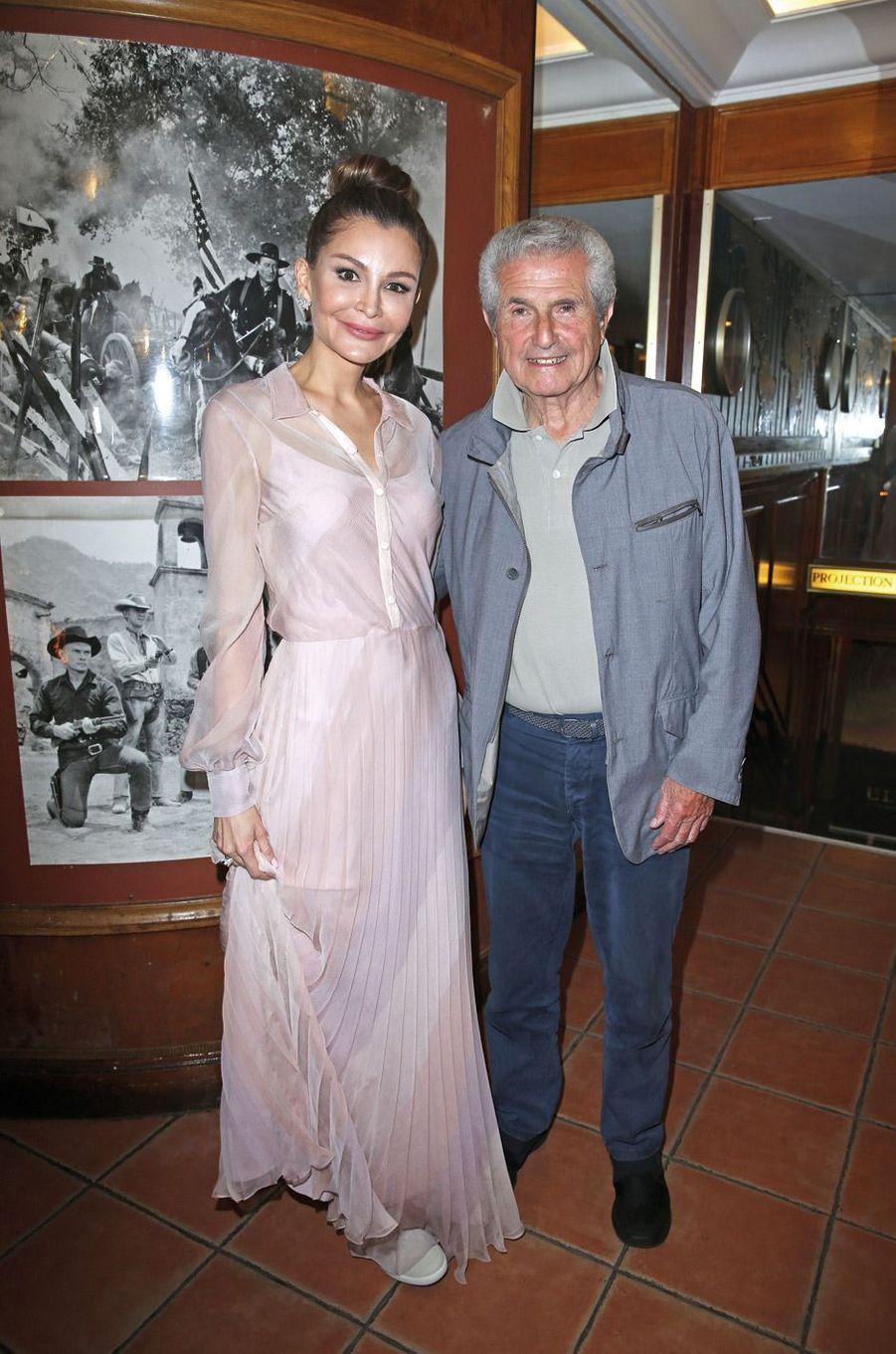 Lola Karmova-Tillyaeva, Claude Lelouch.