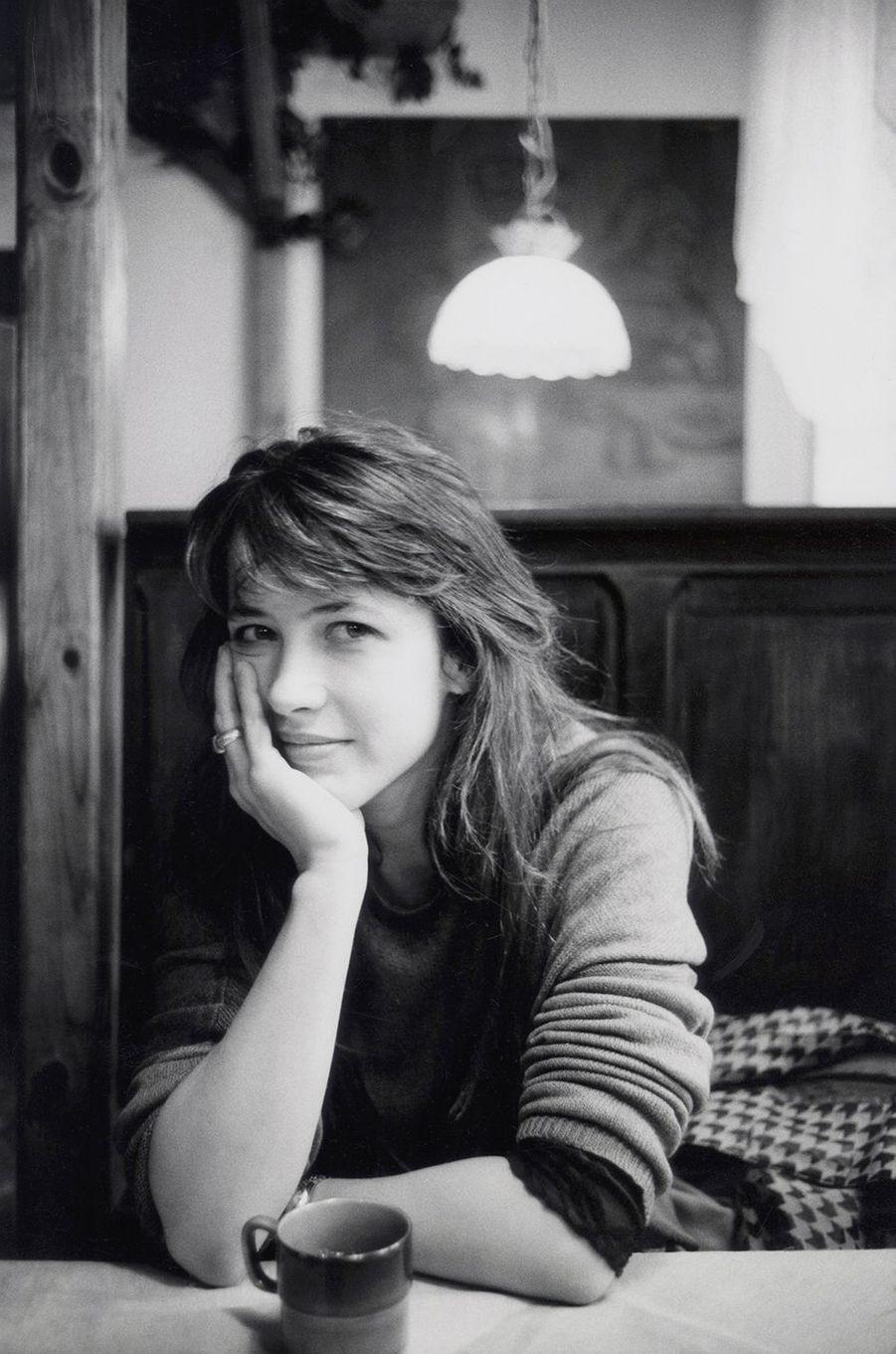 Sophie Marceau à Varsovie en mai 1998.