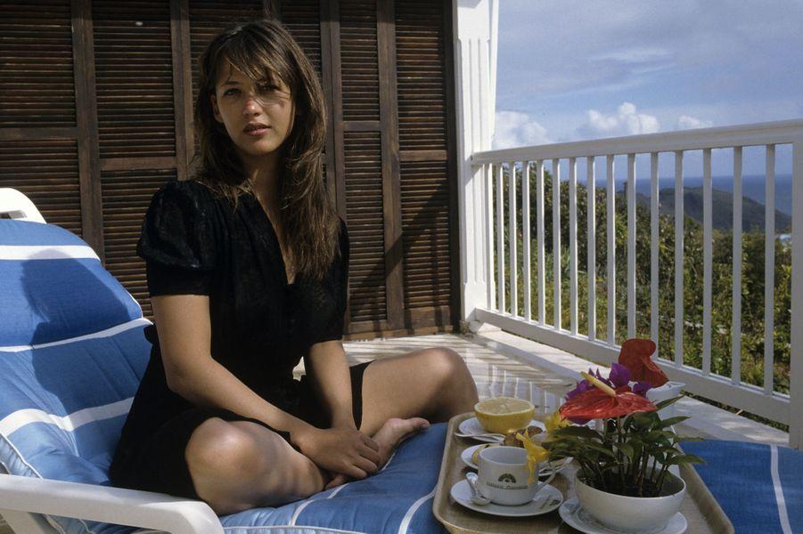 Sophie Marceau, la fiancée des français.