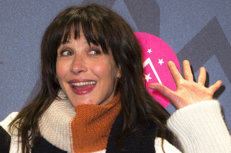 Sophie Marceau au Festival de l'Alpe d'Huez