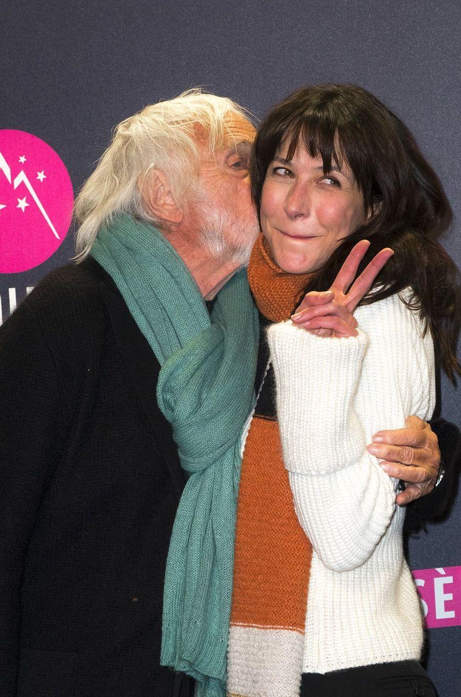 Sophie Marceau et Pierre Richard au Festival de l'Alpe d'Huez