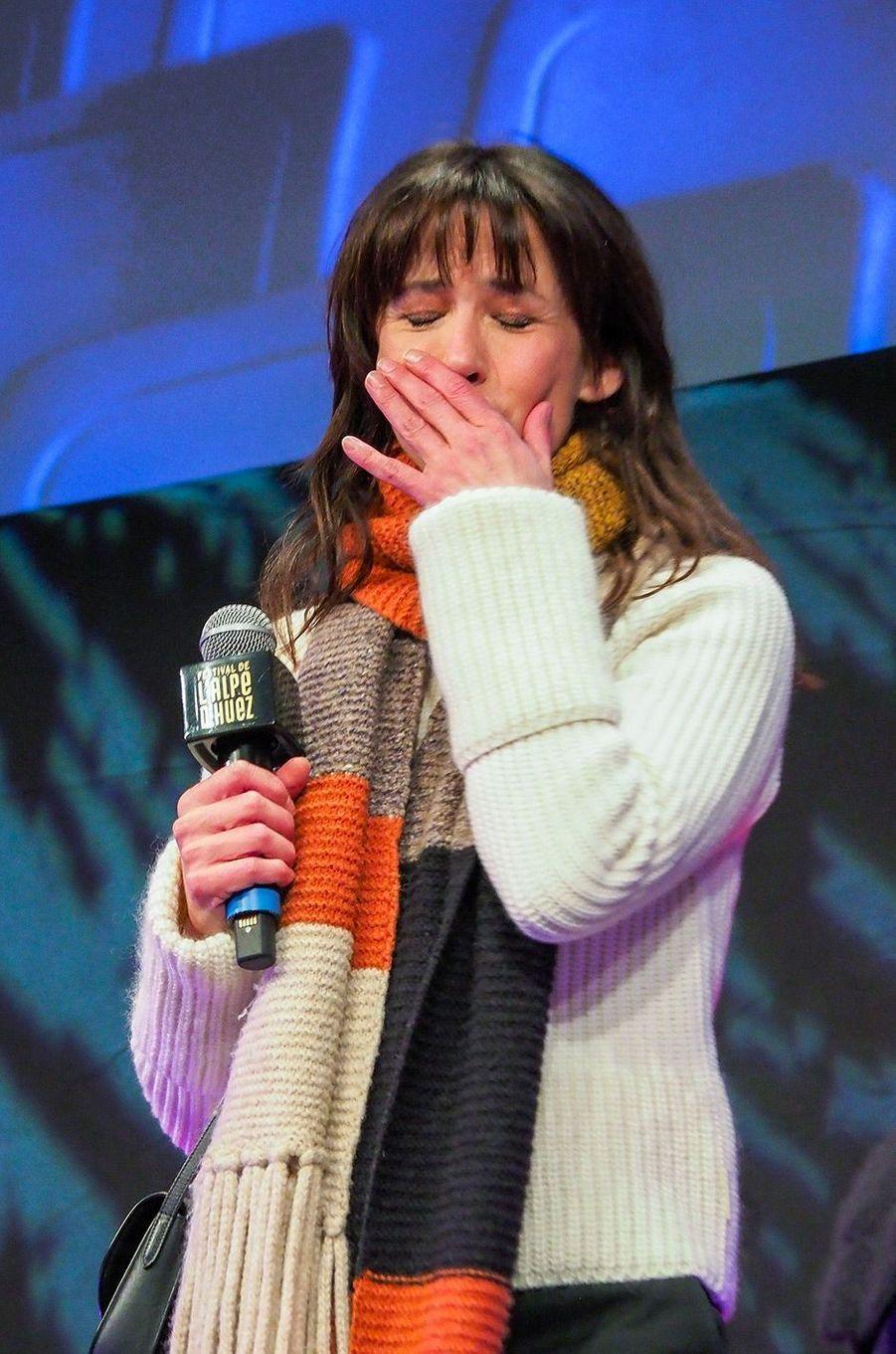 Sophie Marceau présente son film au Festival de l'Alpe d'Huez