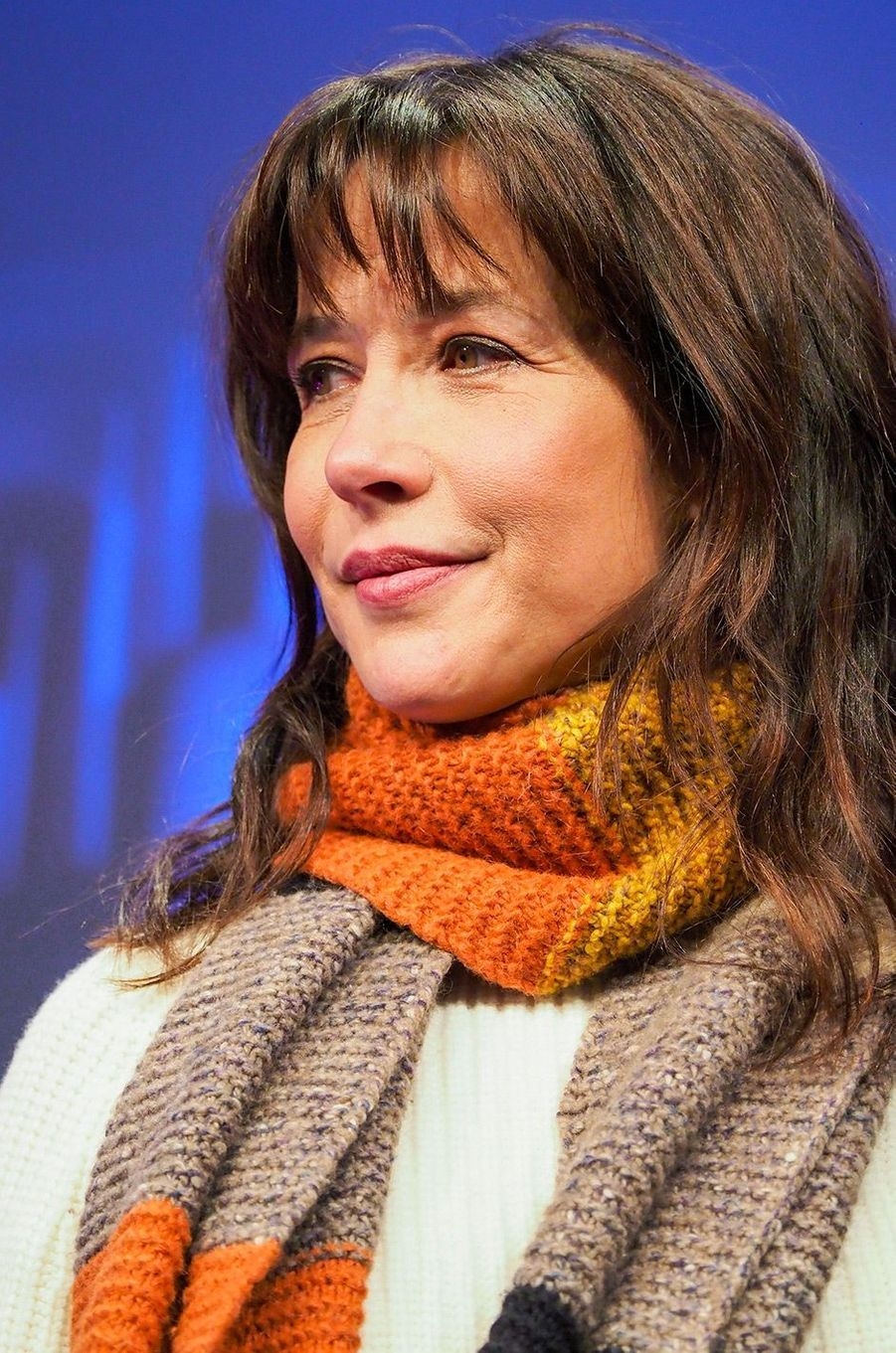 """Sophie Marceau présente son film """"Mme Mills, une voisine si parfaite"""" au Festival de l'Alpe d'Huez"""