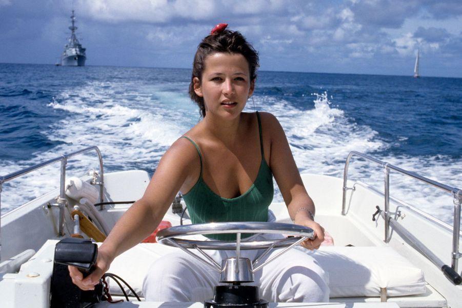 Saint-Bart, 1989 : Sophie Marceau vogue vers son destin.