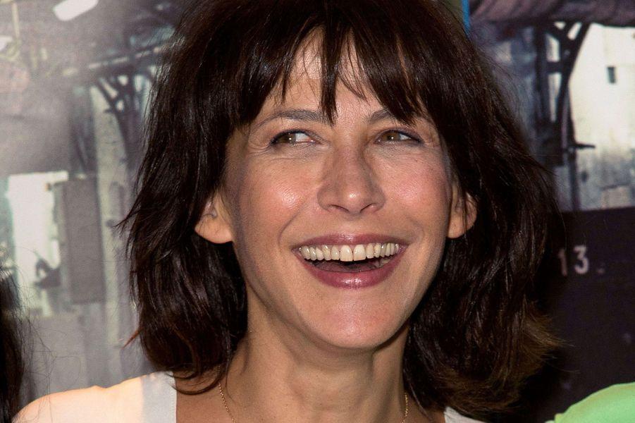 """Sophie Marceau rayonnante pour """"La Taularde"""", le 13 septembre 2016."""