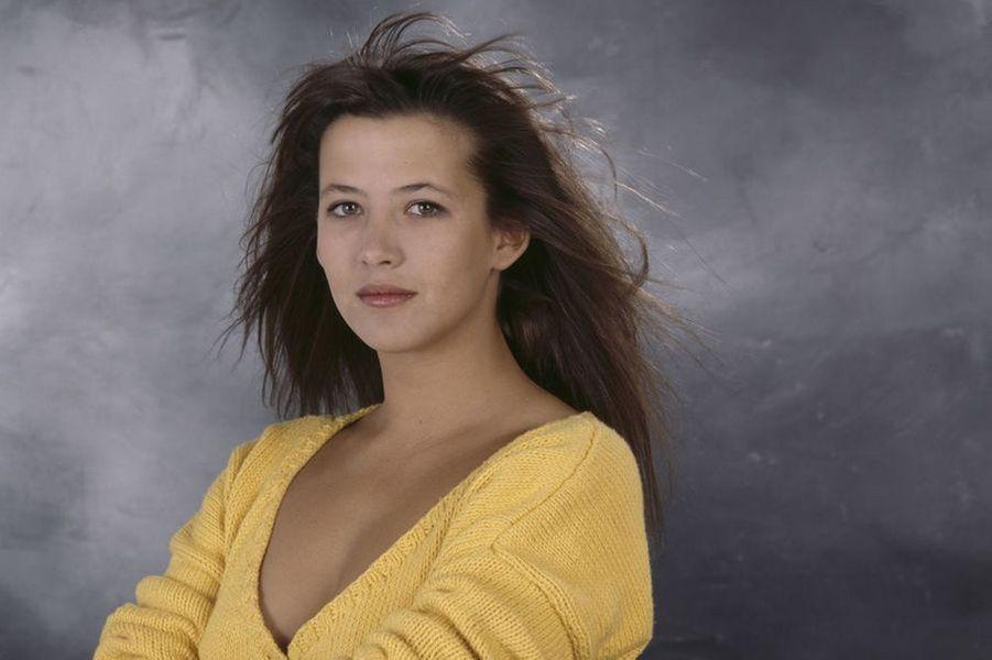 Sophie Marceau à la fin des années 80.