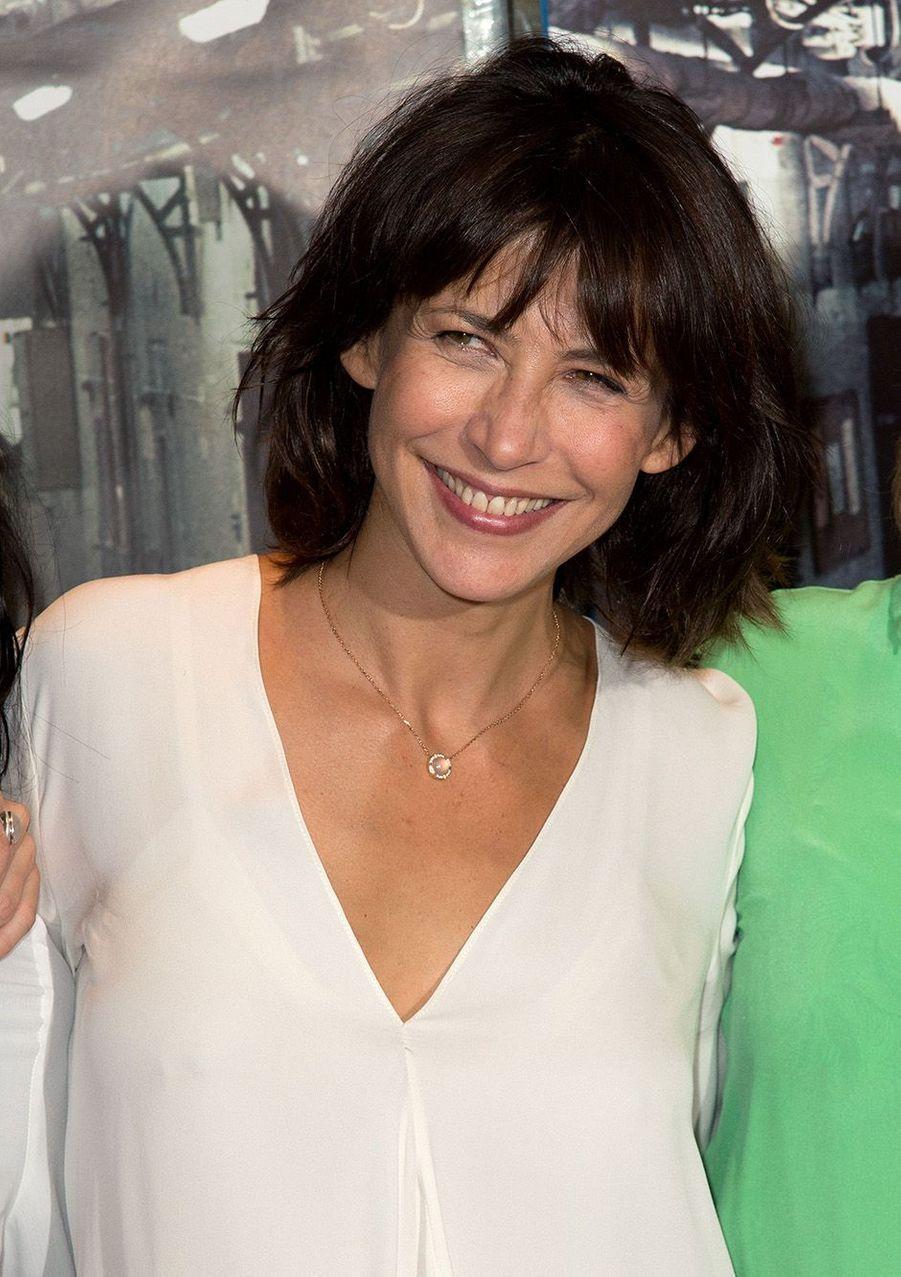 """Sophie Marceau à l'avant-première de """"La Taularde"""" en septembre 2016."""