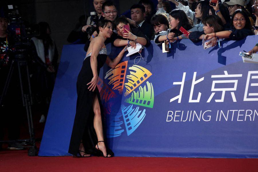 Sophie Marceau lors9ème Festival international du film de Pékin le 13 avril 2019