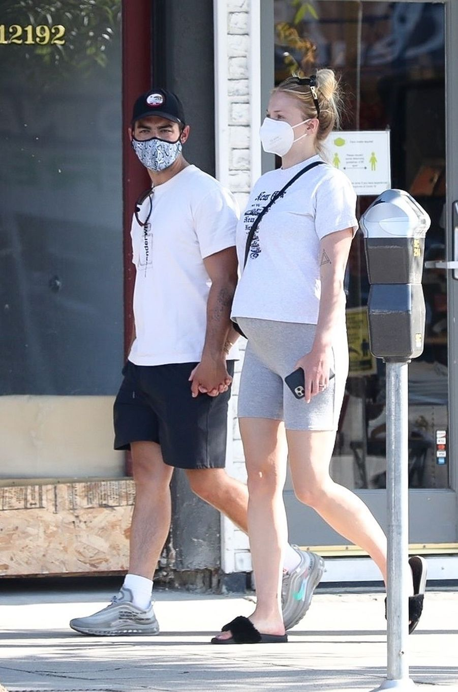 Sophie Turner et Joe Jonas à Los Angeles le 21 juin 2020