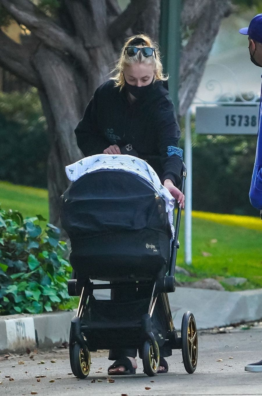 Sophie Turnerà Los Angeles le 21 octobre 2020