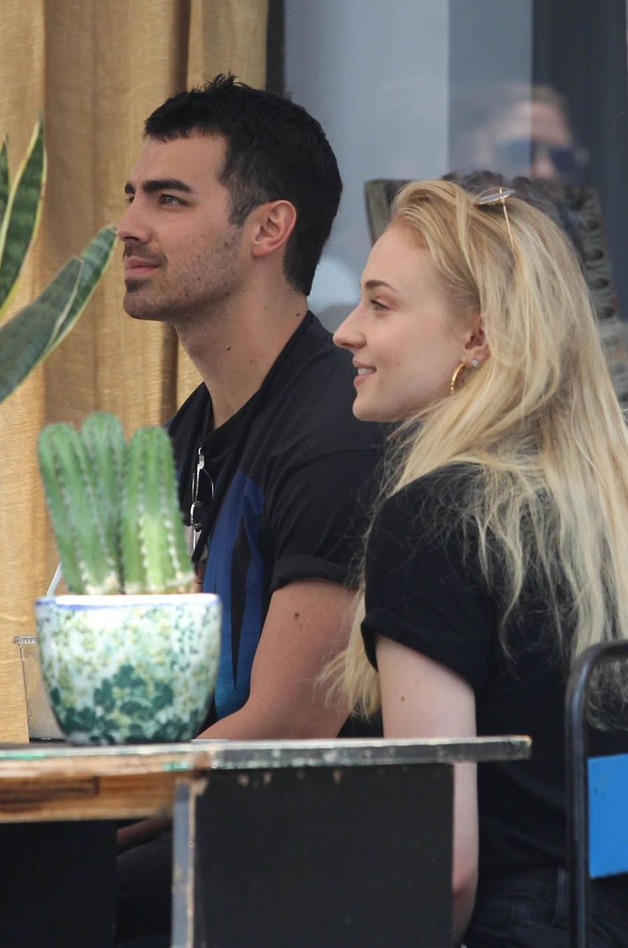 Sophie Turner et Joe Jonas le 5 juin à Los Angeles.