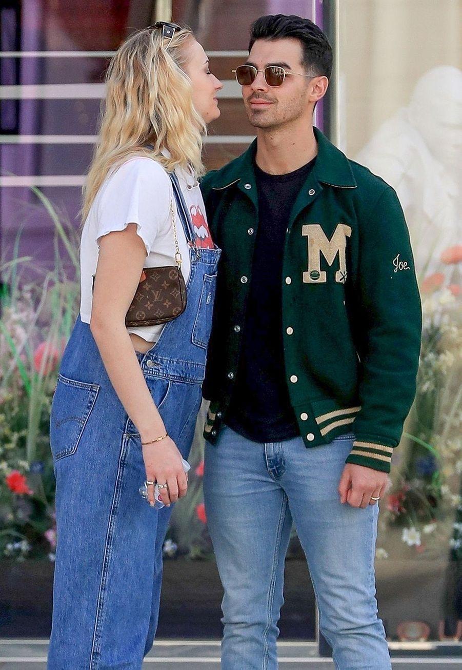 Sophie Turner et Joe Jonas à Los Angeles le 28 février 2020