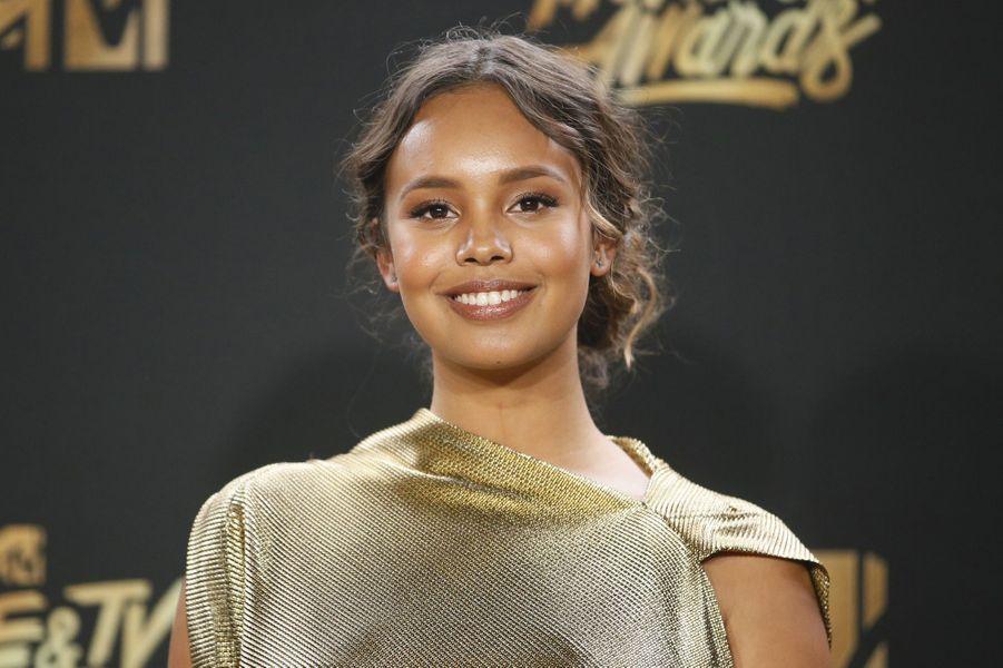 Alisha Boeaux MTV Movie and TV Awards, à Los Angeles, le 7 mai 2017.