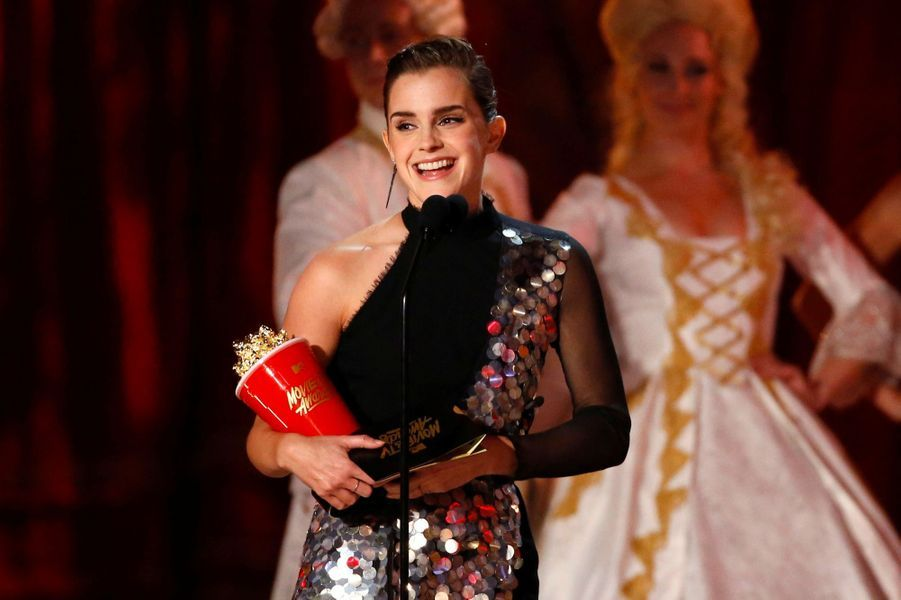 Emma Watsonaux MTV Movie and TV Awards, à Los Angeles, le 7 mai 2017.