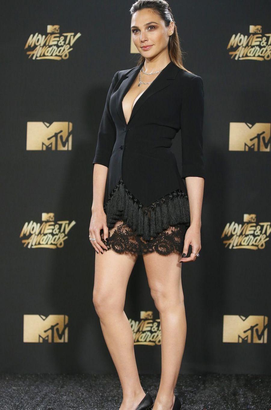 Gal Gadotaux MTV Movie and TV Awards, à Los Angeles, le 7 mai 2017.