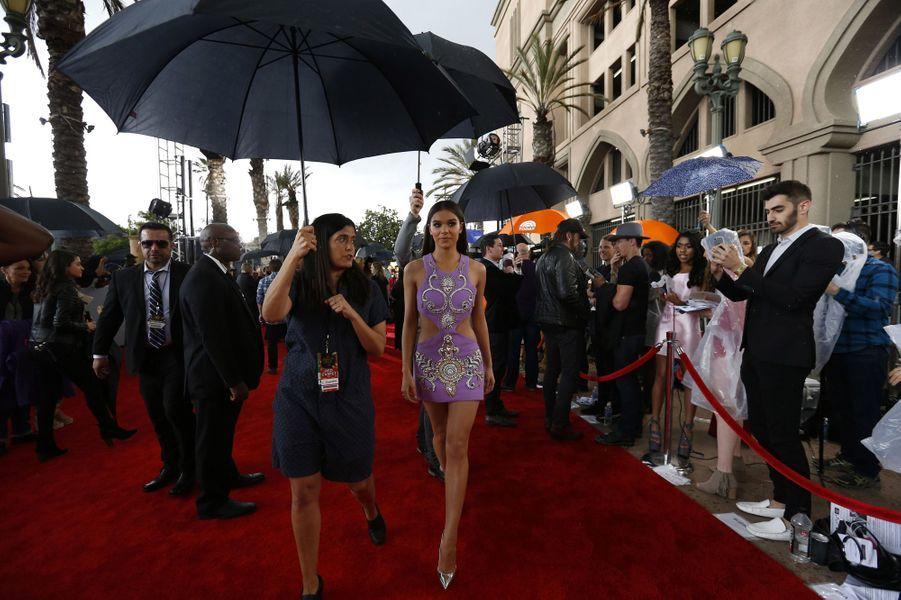Hailee Steinfeldaux MTV Movie and TV Awards, à Los Angeles, le 7 mai 2017.