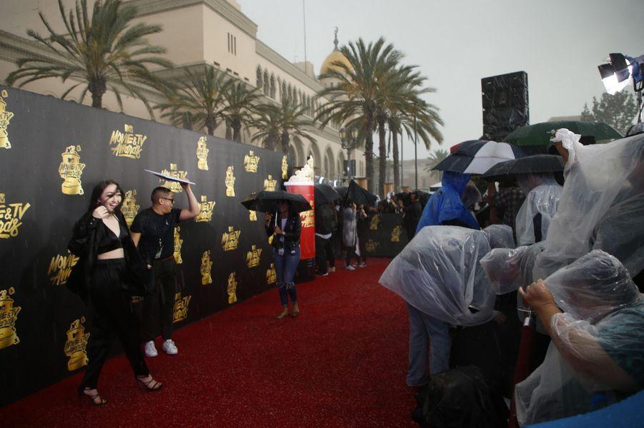 Aux MTV Movie and TV Awards, à Los Angeles, le 7 mai 2017.