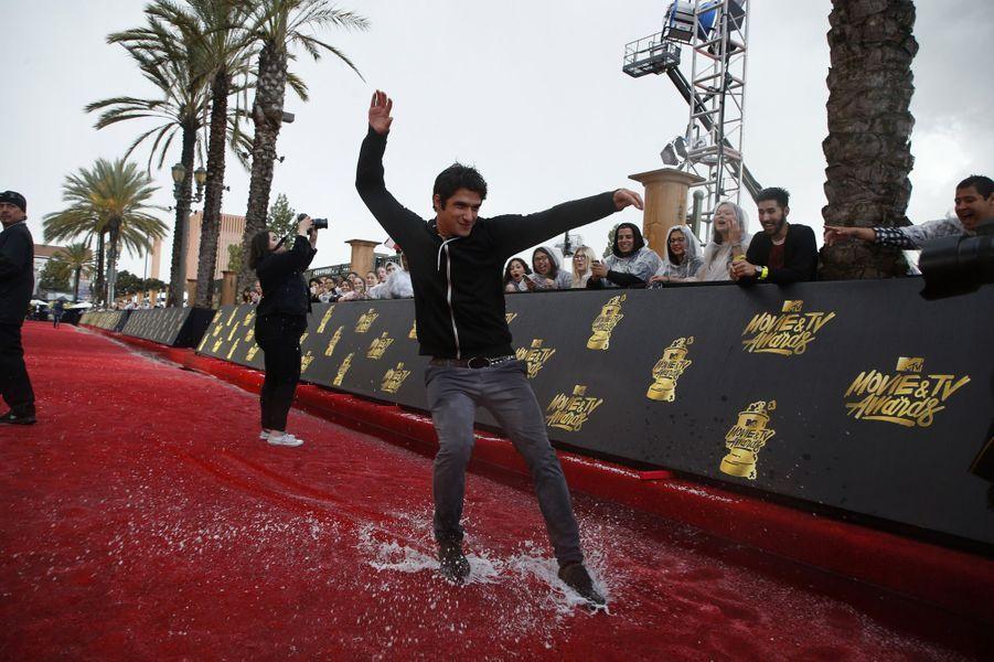 Tyler Poseyaux MTV Movie and TV Awards, à Los Angeles, le 7 mai 2017.