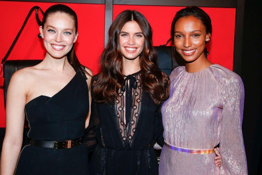 Emily DiDonato, Sara Sampaio, Jasmine Tookes.
