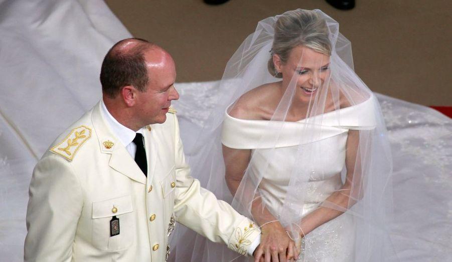 L'autre mariage royal fut celui d'Albert II de Monaco et Charlene Wittstock les 1er (civilement) et 2 juillet 2011.