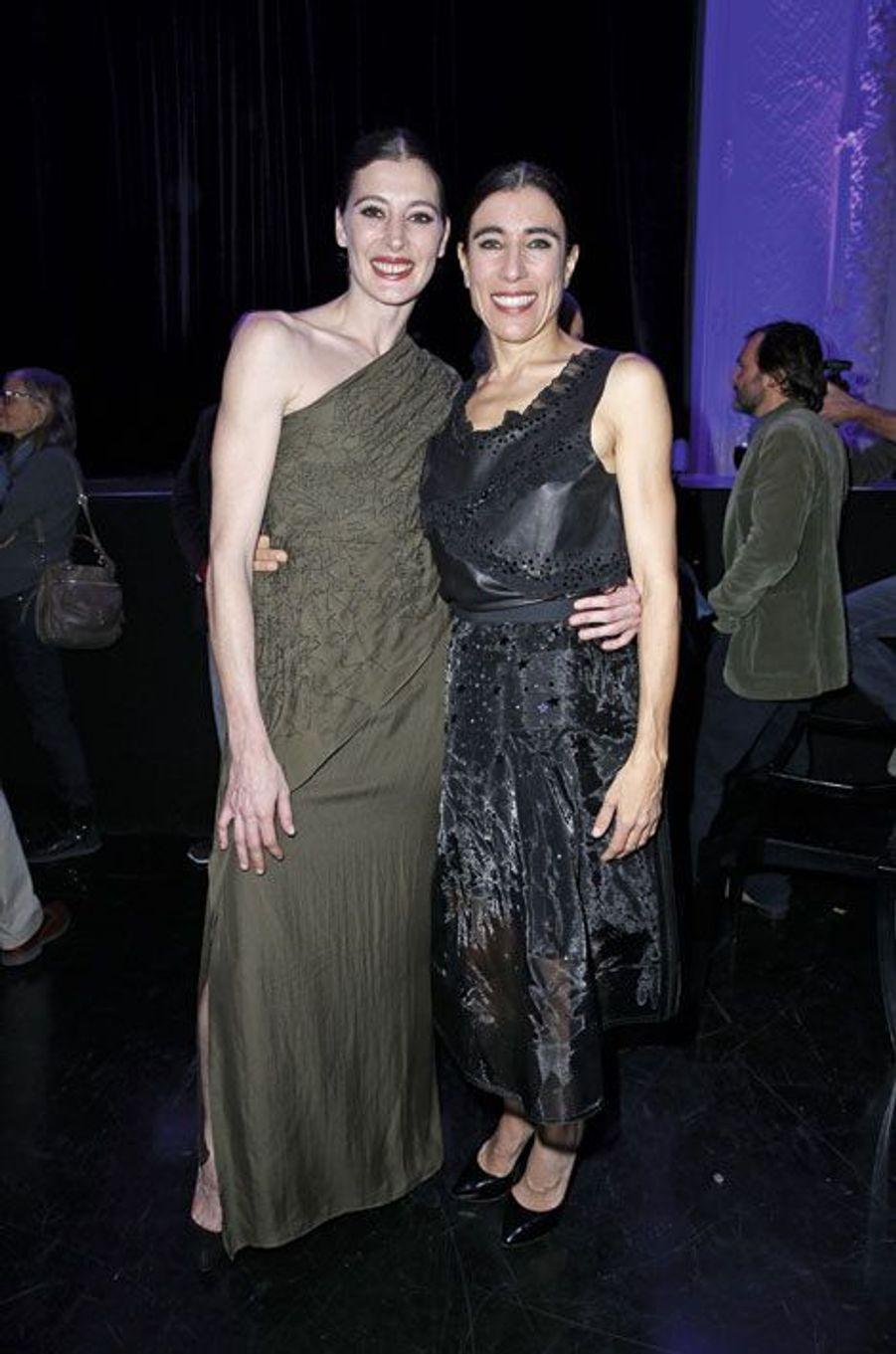Marie-Agnès Gillot et Blanca Li