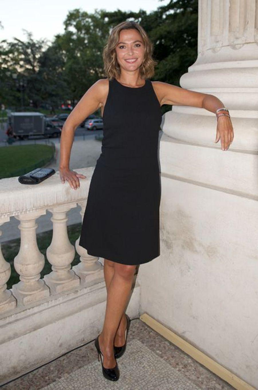 Sandrine Quétier au Gala des 150 ans de la Croix-Rouge à Paris le 12 septembre 2014.
