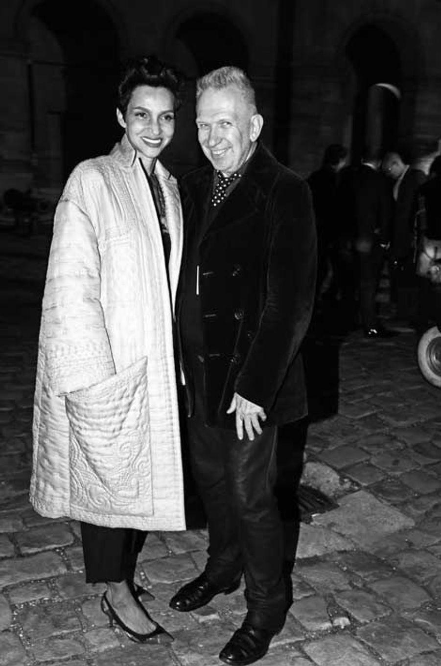 Farida Khelfa-Seydoux, Jean Paul Gaultier