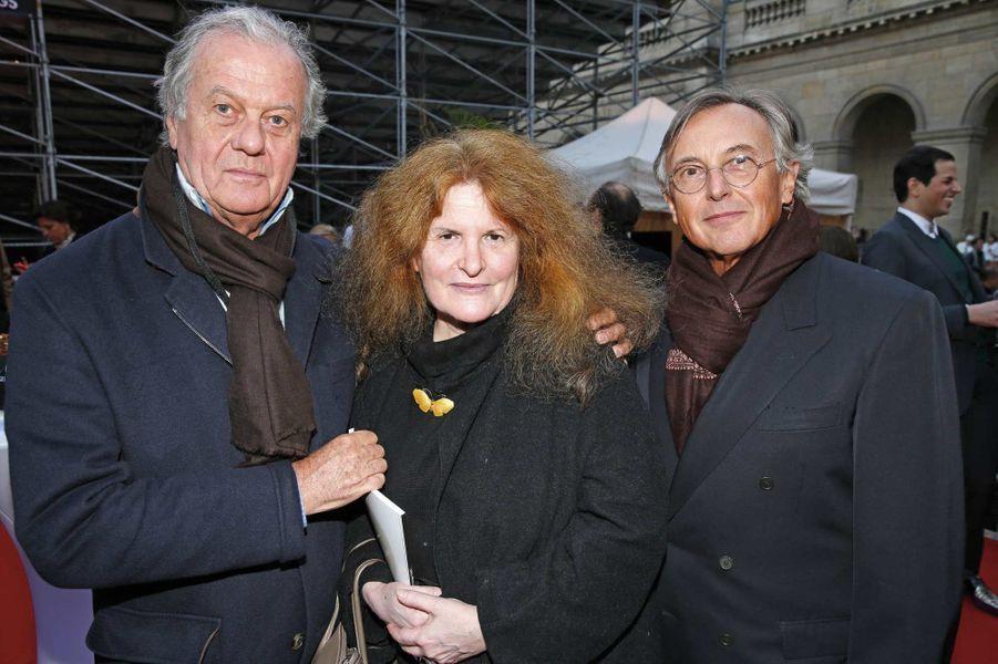 Jacques Grange, Nicole Wisniak, Pierre Passebon