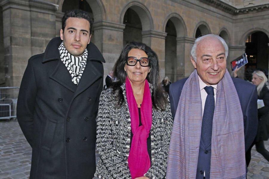 Nicolas Meyers, Françoise Bettencourt-Meyers, et Jean-Pierre Meyers