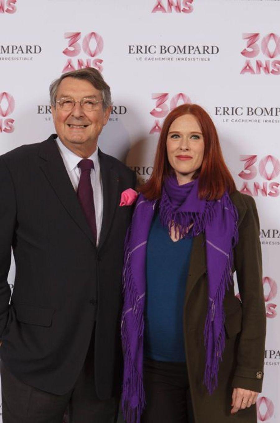 Eric Bompard et Audrey Fleurot