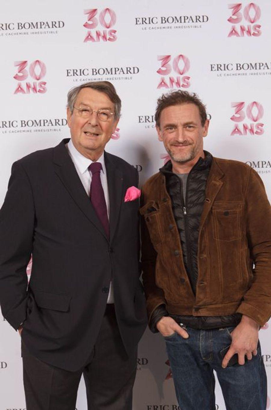Eric Bompard et Jean-Paul Rouve