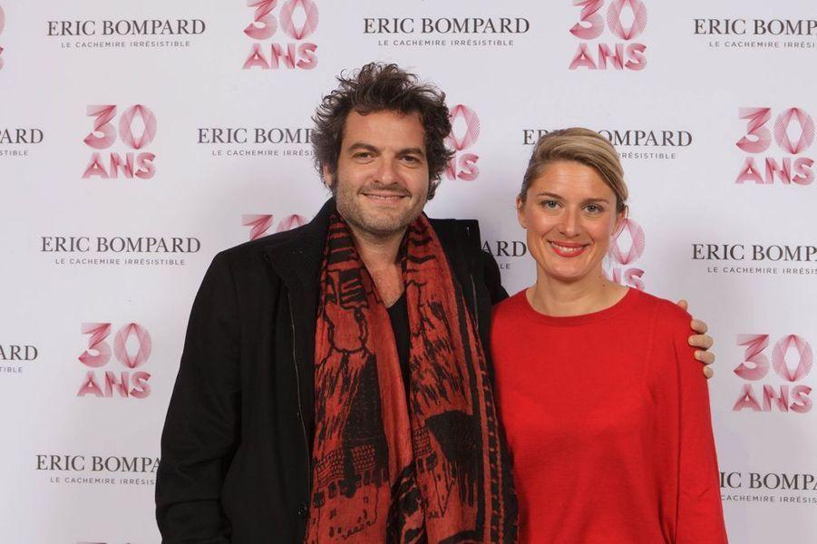 Matthieu Chedid et Lorraine de Gournay