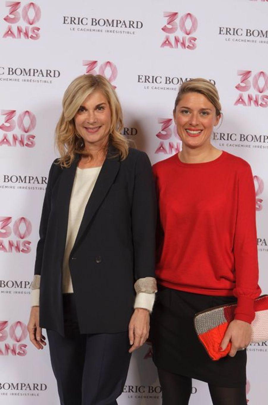 Michèle Laroque et Lorraine de Gournay
