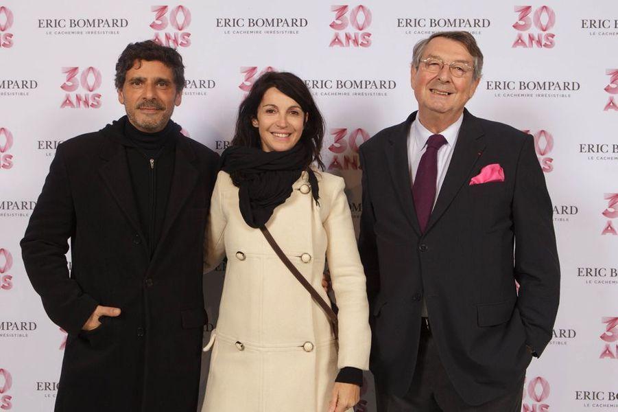 Pascal Elbe, Zabou Breitman et Eric Bompard