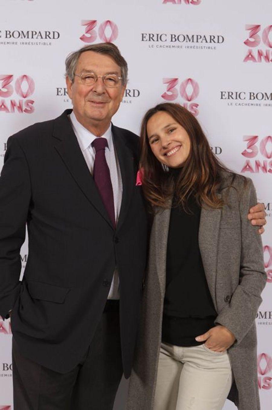 Virginie Ledoyen et Eric Bompard