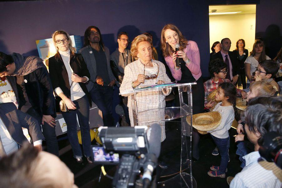 Bernadette Chirac lance l'opération Pièces jaunes 2014