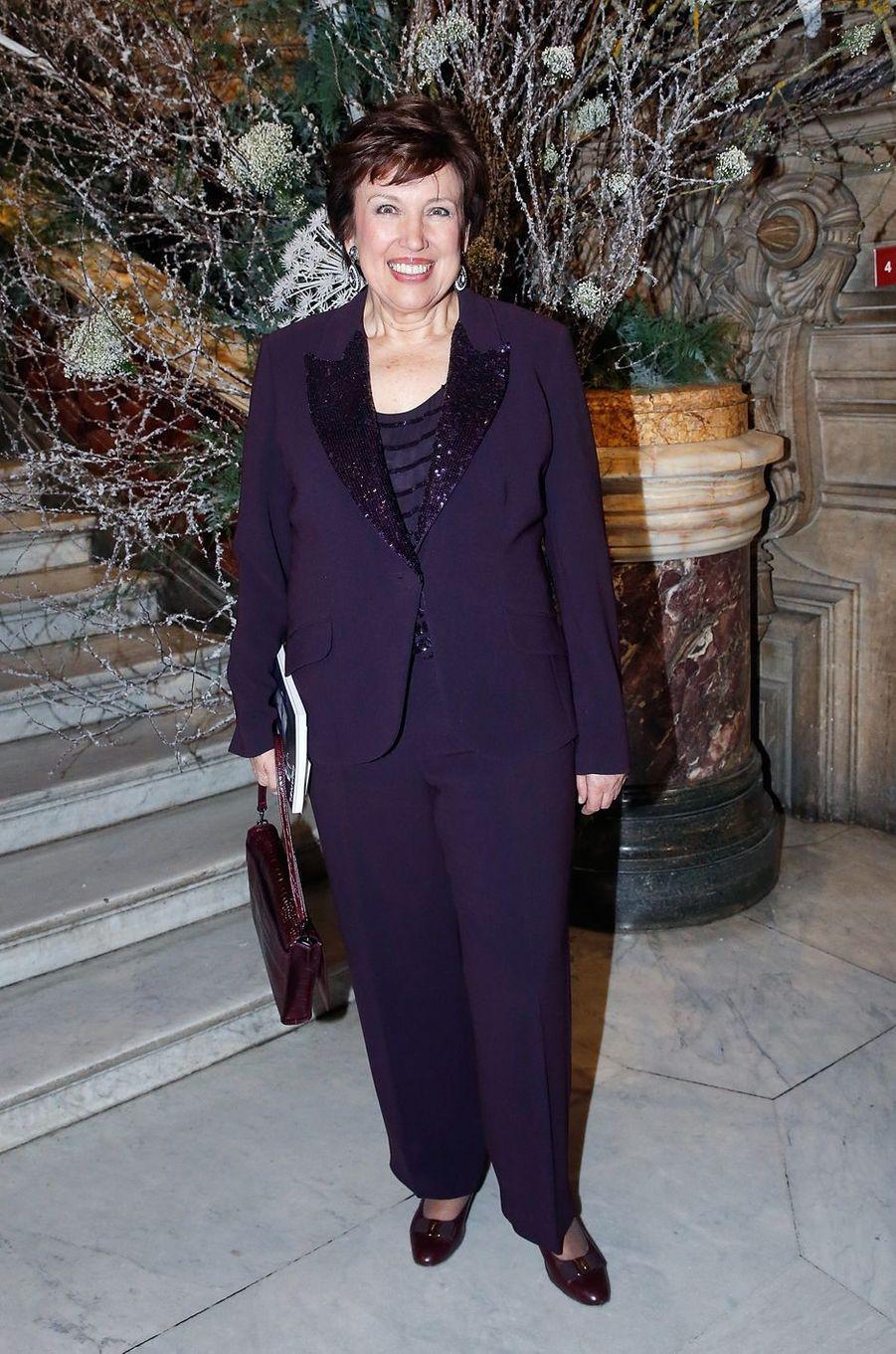 Roselyne Bachelot à Paris le 9 mars 2016