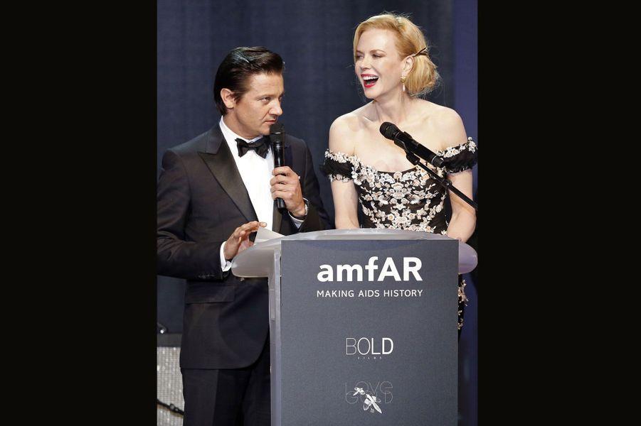 Jeremy Renner et Nicole Kidman
