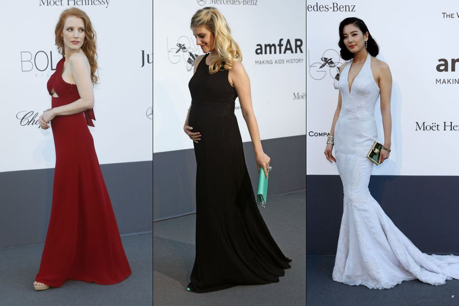 Jessica Chastain, Zhang Yuqi, Mélanie Laurent